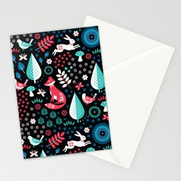 Electric Forest Stationery Cards