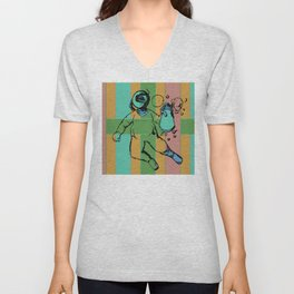 Space Cadet Unisex V-Neck