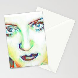 She's got Bette Davis Eyes Stationery Cards