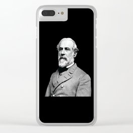 General Robert E. Lee USA Clear iPhone Case