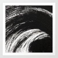 Black an White Art Print