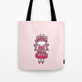 Pink Angel Tote Bag