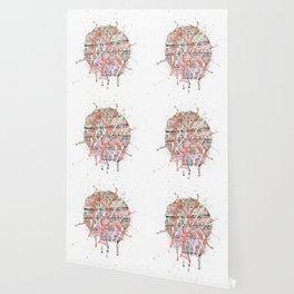Flight of Color - splat Wallpaper
