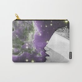 People of the Universe-Nebula Blindfold-Purple Carry-All Pouch