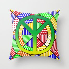 Protect the Earth - Trans Throw Pillow