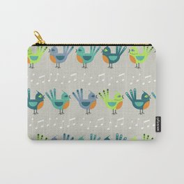 4 Calling Birds Carry-All Pouch