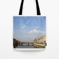 italy Tote Bags featuring Italy by karleegerrand