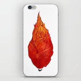 Fiery Soul iPhone Skin
