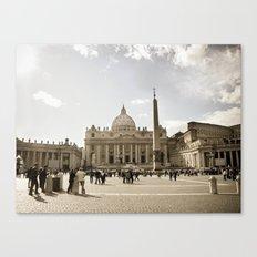 The Vatican Canvas Print