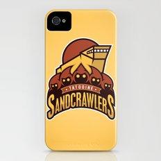 Tatooine SandCrawlers - Gold iPhone (4, 4s) Slim Case
