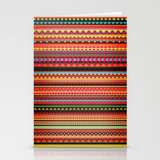 Bulgarian Rhapsody Pattern Stationery Cards