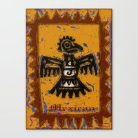 mexican Canvas Prints featuring Mexican design by LoRo  Art & Pictures