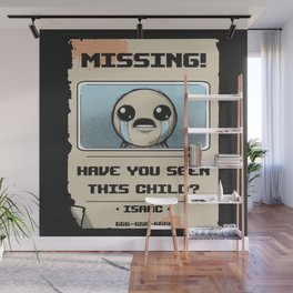 Missing Poster Wall Mural
