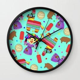 Viva Fiesta Wall Clock