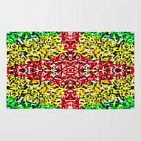 cross Area & Throw Rugs featuring Cross by Bruce Stanfield