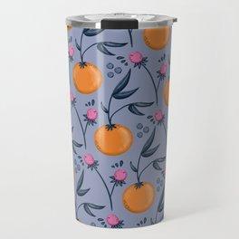 Clementine Berry Pattern Travel Mug