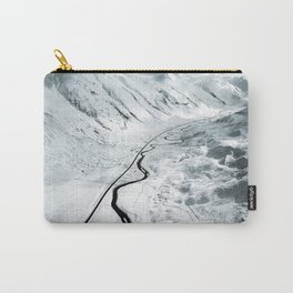 flying over iceland Carry-All Pouch