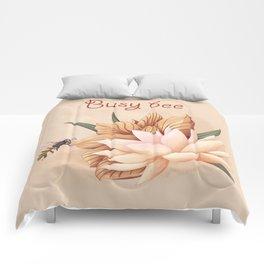 Full bloom   Busy bee Comforters