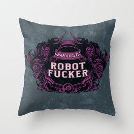 Fancy and Proud Throw Pillow