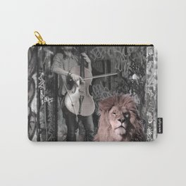 Listening the music. African Invasion. Carry-All Pouch