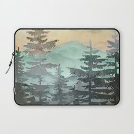 Pine Trees Laptop Sleeve