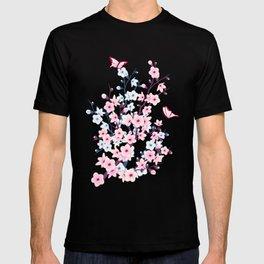 Cherry Blossom Landscape T-shirt