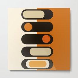 70's Ovals Metal Print