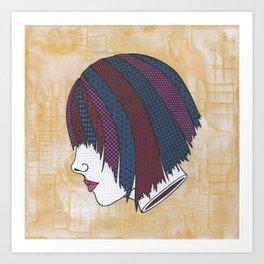 Heads Will Roll (Orange) Art Print
