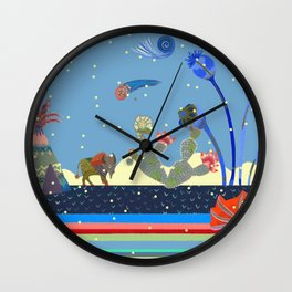 At night Wall Clock