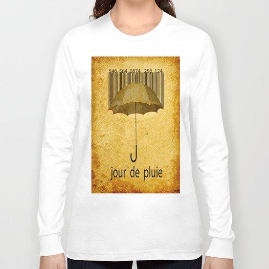 Jour de pluie Long Sleeve T-shirt