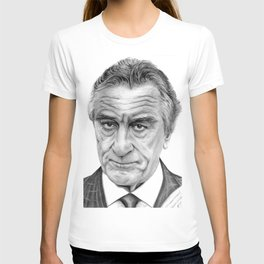 Robert De Niro portrait T-shirt