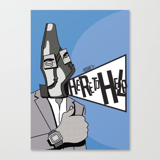 Here to Help Canvas Print