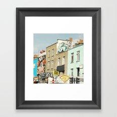 Camden Street Framed Art Print
