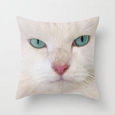 WHITE DELIGHT Throw Pillow
