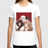big hero 6 T-shirts featuring Big Hero 6  by Arashi.C