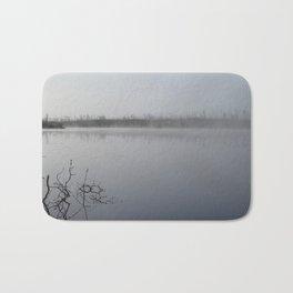Foggy Lake Bath Mat