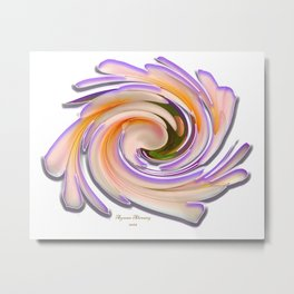 The whirl of life,W1.8A Metal Print