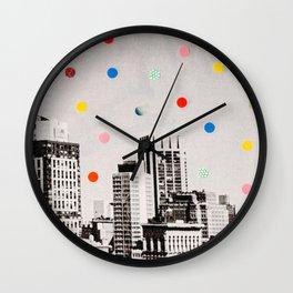 citydots Wall Clock