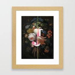Letter J Framed Art Print