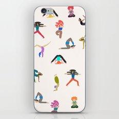 yoga lovers iPhone & iPod Skin