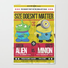 Size Doesn't Matter Canvas Print