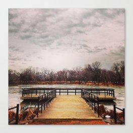 Lagoon in Humboldt Park Canvas Print