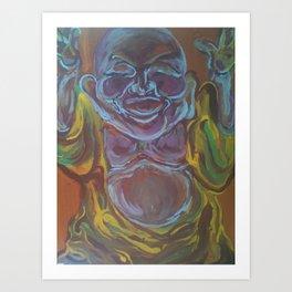 You Buddah believe that. Art Print