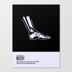 Misery Canvas Print