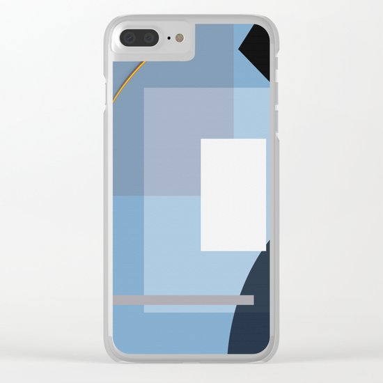 Abstract 2017 022 Clear iPhone Case