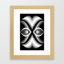 Shades of Grey Framed Art Print