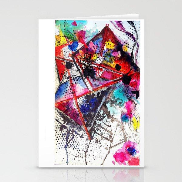 A Windy Day  Stationery Cards