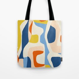 Me & Mine #abstract #painting Tote Bag
