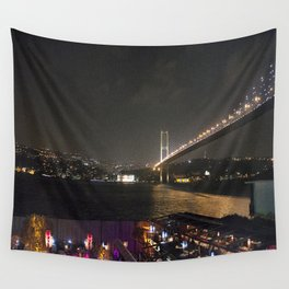 Istanbul Lights! Wall Tapestry