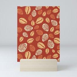Pupu Hinuhinu - Burnt Orange Mini Art Print